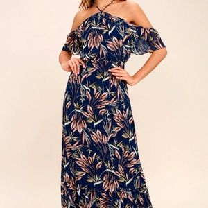 Lulu's Trip to Paradise Floral Maxi